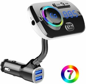 BC49 Bluetooth Car FM Transmitter Car Charger MP3 Player USB for iPhone Samsung