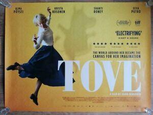 "Tove (2021) Original UK Cinema Quad Poster 30"" x 40"" NEW"