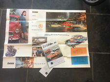 Original 1960's Skoda Car Brochures