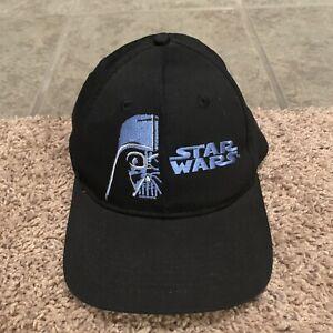 Vtg 90s Star Wars Embroidered Hat Darth Vader Never Underestimate The Dark Side