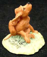 """15147 Schmid 1987 Lowell Davis Foxfire Farms Dog """"Fleas� Figurine"""