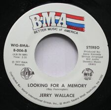 Rock Nm! 45 Jerry Wallace - Looking For A Memory / At The End Of A Rainbow On Bm