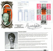 2009 DESIGN CLASSICS PANE HAND SIGNED MAUREEN LIPMAN BENHAM FIRST DAY COVER SHS