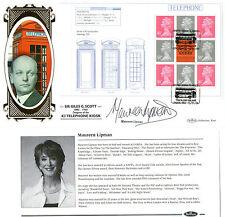 2009 DESIGN CLASSICS PANE SIGNED MAUREEN LIPMAN BENHAM FIRST DAY COVER SHS