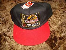 JURASSIC PARK 1993 TEAM   DEADSTOCK 90'S HAT CAP VINTAGE SNAPBACK