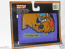 NEW IN PACKAGE SCOOBY DOO KIDS TRIFOLD PURPLE WALLET