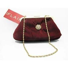ELEGANT! Red Revlon FLAIR Evening Handbag/Purse