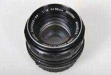 Minolta Rokkor-PF 55mm, f/1.8 Lens.  Early Minolta MC Mount