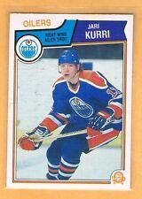 1983-84 OPC Jari Kurri #34 Edmonton Oilers