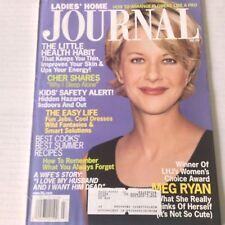 Ladies' Home Journal Magazine Meg Ryan Cher Shares July 1999 051717nonrh