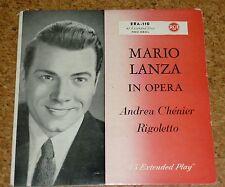 Single Mario Lanza in Opera Andrea Chenier RCA ERA 110 Red Seal