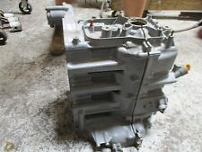 Honda BF75A 4 stroke outboard crankcase block
