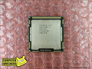 INTEL QUAD CORE i5-750 2.66GHz to 3.2GHz SLBLC PC DESKTOP COMPUTER CPU LGA1156