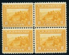 UNITED STATES SCOTT #400  BLOCK MINT  NEVER HINGED SEPARATION BETWEEN BOTOM TWO