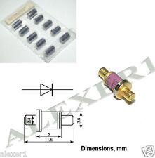 5 pezzi//5 pieces 1.5ke51a Transil Diodo unidirectional 1.5kw 51v do-201 NEW *
