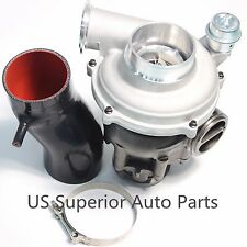 99.5-03 Ford 7.3L Powerstroke Upgrade GTP38 Turbo Charger + 4'' Air Intake Pipe