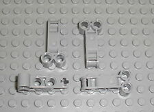 LEGO Technic - 4x Achs Pin Verbinder Perpendicular Double 4L 98989 9398 41999