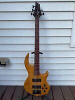 Conklin Groove Tools 5 String Bass Korean Made Beautiful Guitar
