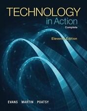 USED (GD) Technology In Action, Complete (11th Edition) by Alan Evans