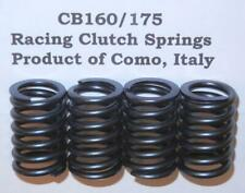 Honda CB160 175 WORLD'S BEST set/4 road racing clutch springs Made in Como Italy