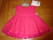 BNWT baby girl outfit - red lace dress with tights. Matalan. 3-6 months.  1/1