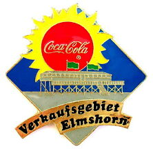 COCA COLA Pin / Pins - VERKAUFSGEBIET ELMSHORN [2118A]