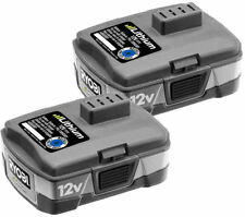 Ryobi 12-Volt Lithium-Ion Rechargeable Battery 2 Pack Model CB121L 130194002
