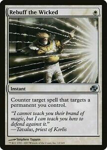 REBUFF THE WICKED - MTG Planar Chaos Uncommon Instant