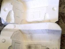 5X4X7 MUSICAL BARN BANK, DINAS MOLDS D334A, Slip Casting Ceramic Mold