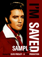 "Elvis Presley ""I'M SAVED"" Incredible dvd! Rare footage &edits!"