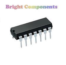 5 x LM324N Quad Op Amp IC (324, LM324) - Genuine TI - DIP/DIL14 -1st CLASS POST