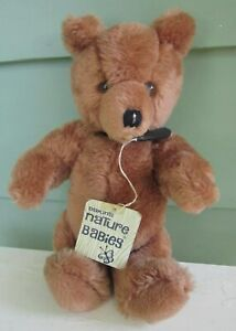 Dakin San Francisco Stuffed Christopher Bear Nature Babies Vintage with Tag 12""