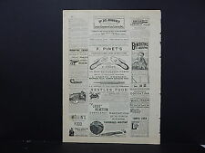 Illustrated London News Ads ONE Double-Sided Page c1888 S2#16 Nestle's Baby Food