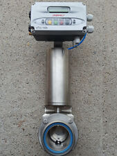 Elektropneumatischer Stellungsregler Gemü ePos 1435 mit ZFA Scheibenventil DN65