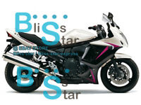Black white Fairing Bodywork Fit Suzuki GSX650F 2009 2010 2011 2008-2012 12 D5