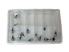 Screw In Watch Push Buttons Assorted Kit of 14pcs in Stainless Steel