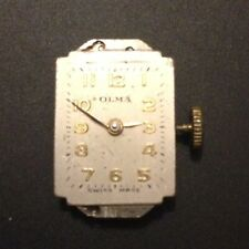 OLMA ladies watch movement, 15 jewel, Swiss - for repair or parts (1)