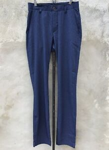 New Under Armour Showdown Vented Men's Golf Blue Straight Pants Size 30x36
