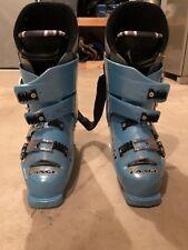 Lange Welt Cup Ski Boot. 120 flex. Size Ten. Light Blue.