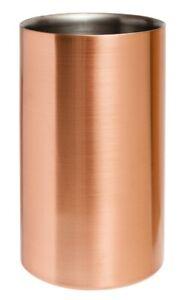 Copper Plated Wine Cooler Bar Champagne Restaurant Modern Cooler Chill