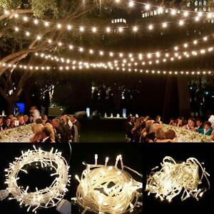 10-100 LED String Waterproof Fairy Light Battery Operated Lamps Xmas Party Decor