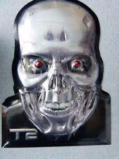 Terminator 2 (T2) Skull Metal Print / Plaque