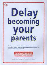 Virgin Net 2000 Magazine Advert #3536