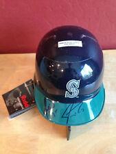 JAMIE MOYER & JEREMY REED Autograph Baseball Mini Helmet ~ RIDDELL ~ Seattle ~