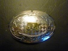 "Covered Wagon Western Belt Buckle - Stamped ""Made in Usa"""