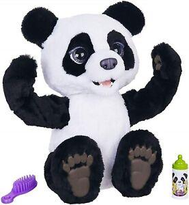 FurReal Friends Plum The Curious Panda Bear Pet Bear Interactive Kids Plush Toy