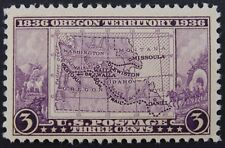 Stamp US, Cat. #783, 3c Oregon Territory Centennial, (1936), Mint NH/OG