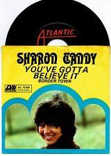 ATLANTIC 7'' ★ SHARON TANDY ★ YOUVE GOTTA BELIVE IT ★ RARE GERMAN PS 45 1969 MOD