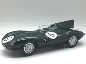 AUTOART JAGUAR D TYPE WINNER LE MANS 1955 #6 HAWTHORN UNBOXED 1/18