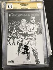 The Walking Dead 144 Sketch CGC SS SDCC Kirkman 9.8 Variant $$ Comic Book